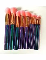 cheap -professional makeup brush makeup brush 10 three-dimensional multi-function makeup brush set makeup tool portable beauty brush makeup brush soft bristles (color : a)