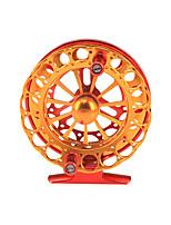 cheap -Fishing Reel Fly Reel 1:0.1 Gear Ratio+2 Ball Bearings Fly Fishing / Bass Fishing / Hand Orientation Exchangable