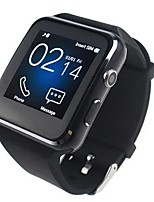 cheap -X6 Curved HD Camera SIM Card Call Sleep Monitor Built-in Apps Smart Watch for iOS Android