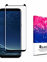 cheap -galaxy s9 screen protector glass, made of full 3d curved 9h japanese tempered glass. basesailor anti-scratch, hd clear (0.26mm thickness) (zoom screen)