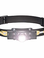 cheap -rechargeable cree led headlamp waterproof super bright usb headlight lightweight head torch 5 modes headlight for cycling running camping hiking fishing (single)