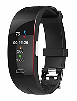 cheap -smart watch, fitness tracker health watch with body temperature heart rate spo2 saturation monitor, waterproof activity tracker fitness watch with sport modes sleep monitor (black red)