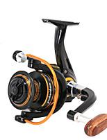 cheap -Fishing Reel Spinning Reel 5.0:1/4.7:1 Gear Ratio+13 Ball Bearings Sea Fishing / Bait Casting / Freshwater Fishing / Trolling & Boat Fishing / Hand Orientation Exchangable