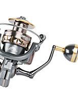 cheap -Fishing Reel Spinning Reel 5.0:1/4.7:1 Gear Ratio+5 Ball Bearings Sea Fishing / Bait Casting / Freshwater Fishing / Trolling & Boat Fishing / Hand Orientation Exchangable
