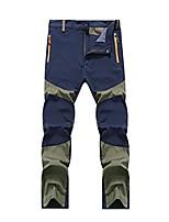 cheap -mens waterproof outdoor hiking climbing warm trousers tactical pants (4xl, blue)