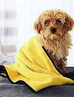 cheap --sam medium dog bathing towel microfiber pet bath grooming towel,oversized,fast-dry