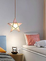 cheap -27 cm Star Pendant Light Nordic Copper Brass Modern Bedside Light Christmas Decoration C110-120V 220-240V