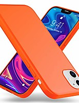 cheap -neon cover compatible with iphone 12 / iphone 12 pro case, slim protective shock-absorbent silicone backcover, ultra-thin mobile phone protector shockproof bumper rugged skin, color:orange