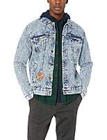 cheap -men's men's denim nickelodeon jacket outerwear, denim, m