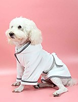 cheap -dog bathrobe with adjustable strap, microfibre fast drying super absorbent pet dog cat bath robe towel,s
