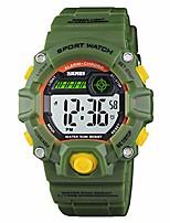 cheap -boy's digital watch, military sports watch with alarm stopwatch led backlight waterproof kids watch for boys
