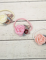 cheap -1pcs Toddler / Infant Girls' Sweet Floral Floral Style Hair Accessories Blushing Pink / Orange / Beige