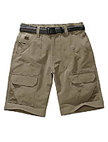 cheap -men's outdoor tactical shorts lightweight expandable waist cargo shorts with multi pockets quick dry water resistant,6071,khaki, us 40