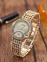 cheap -Kids Steel Band Watches Quartz Stylish Glitter Casual Creative Analog Rose Gold