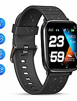 "cheap -smart watch, 1.3"" full touch screen smartwatch, fitness trackers with heart rate monitor, waterproof ip68 fitness tracker watch, smart watch for men women for iphone android phone"