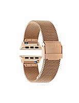 cheap -compatible apple watch band, fits 38mm, 40mm, 42mm, 44mm apple watch series 5/4/3/2/1 and sport, mesh apple watch band, milanese mesh band, stainless steel…