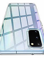 cheap -liquid crystal case compatible with samsung galaxy s20 -crystal clear