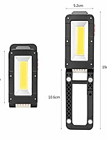 cheap -working light usb rechargeable work flashlight foldable magnetic inspection lamp car repairing camping emergency light,8.6cm
