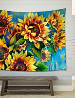 cheap -Wall Tapestry Art Decor Blanket Curtain Picnic Tablecloth Hanging Home Bedroom Living Room Dorm Decoration Polyester Vintage Sunflower Beauty Views