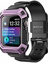 cheap -[unicorn beetle pro] designed for apple watch series 6/se/5/4 [44mm], rugged protective case with strap bands(purple)