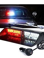 cheap -white red 16 led high intensity emergency hazard warning strobe lights w/suction cups for volunteer firefighter law enforcement vehicles truck interior roof windshield dash deck flash light