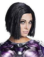 cheap -women's battle angel adult alita costume wig, multicolor, one size