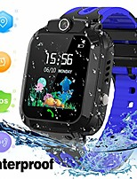 cheap -kids smart watch waterproof with gps tracker phone smartwatch sos game voice chat 1.44'' touch screen for boys girls birthday gift (blue)