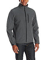 cheap -men's softshell, heather grey, s