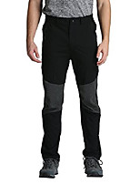 cheap -men's stretch lightweight hiking pants belted quick drying (32w x 29l,black)