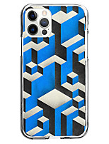 cheap -3D Case For Apple iPhone 12 iPhone 11 iPhone 12 Pro Max Unique Design Protective Case with Screen Protector Shockproof Back Cover TPU