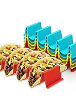 cheap -1pc Taco Holder Burrito Stand Wave Tortilla Pancake Stand Kitchen Food Display Stand