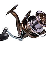 cheap -Fishing Reel Spinning Reel 4.0:1 Gear Ratio+15 Ball Bearings Sea Fishing / Bait Casting / Freshwater Fishing / Trolling & Boat Fishing / Hand Orientation Exchangable