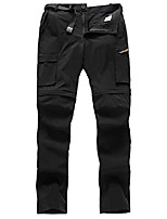 cheap -mens hiking convertible pants outdoor waterproof quick dry zip off lightweight fishing pants (black, 34w x 34l)