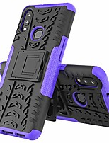 cheap -isadenser galaxy a10s case samsung a10s case ultra slim shell multifunction bracket kickstand shockproof 2 in 1 360°full body anti-scratch cover compatible with samsung galaxy a10s, hyun purple