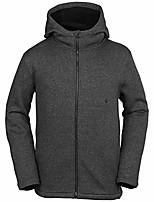 cheap -men's stone storm bonded zip jacket (black/medium)