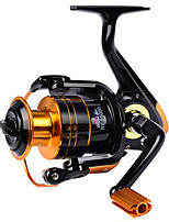 cheap -Fishing Reel Spinning Reel 5.2:1 Gear Ratio 12 Ball Bearings Adjustable for Sea Fishing / Freshwater Fishing / Trolling & Boat Fishing