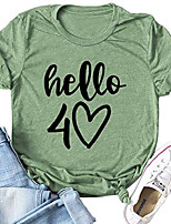 cheap -vintage 1980 40 years of being awesome shirt - 40th birthday gift womens graphic t-shirt s t-shirt (3xl, wine red)