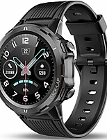cheap -smart sport watch with fitness tracker, 1.3in touch screen with heart rate monitor, pedometer, sleep tracker watch, 14d+ playtime, weather, 5atm waterproof watch for christmas