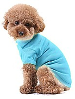 cheap -pet puppy polo t-shirt small dog shirt clothes costume apparel