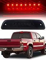 cheap -high mount stop lights led 3rd red brake tail light replacement fit for 1995-2016 toyota tacoma truck (black)