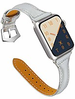 cheap -compatible apple watch band 38mm 40mm, top grain leather band replacement strap for iwatch series 6, se, series 5, series 4,series 3,series 2,series 1,sport, edition