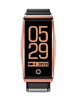 cheap -Mate 1 0.96 Color Screen Blood Oxygen Blood Pressure Heart Rate Music Camera Control Smart Watch