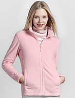 cheap -Hiking Jacket Winter Outdoor Thermal Warm Windproof Breathable Camping / Hiking Hunting Fishing Black Blue Blushing Pink Fuchsia Rose Red