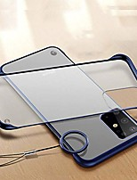 cheap -case for samsung galaxy s20 ultra case frame-less design matte hard plastic back cover tpu shockproof bumper corner ultra slim thin translucent protective phone case for samsung s20 ultra