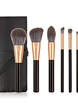 cheap -Professional Makeup Brushes 7 PCS Soft Full Coverage Adorable Lovely Comfy Wooden / Bamboo for Makeup Tools Blush Brush Foundation Brush Makeup Brush Lip Brush Eyeshadow Brush