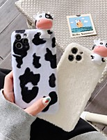cheap -Case For Apple iPhone 12 / iPhone 11 / iPhone 12 Pro Max Shockproof Back Cover Cartoon / Animal TPU