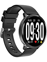 cheap -S8 Heart Rate Blood Pressure Oxygen Monitor Auto-light Large View Smart Watch