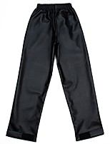 cheap -Women's Sporty Basic Comfort Daily Going out Wide Leg Pants Pants Solid Colored Full Length Pocket Black Red