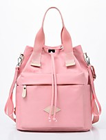 cheap -Women's Bags Nylon Synthetic Top Handle Bag Zipper Handbags Daily Outdoor Black Blushing Pink Green Gray