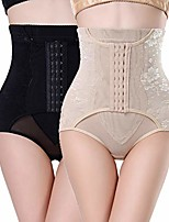 cheap -2 packs women butt lifter shapewear bodysuit trainer corset panties tummy control high waist underwear